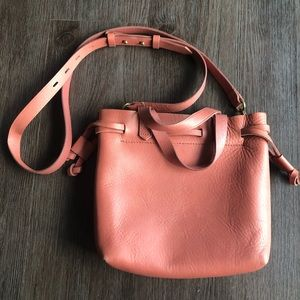 Madewell Small Transport Tote - Dusty Pink
